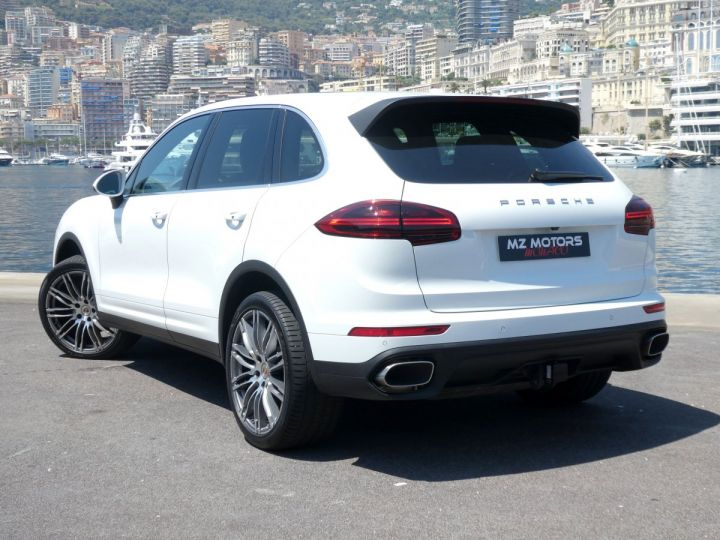 Porsche Cayenne II (2) 3.0 V6 D 262 TIPTRONIC  Blanc Pur Occasion - 11