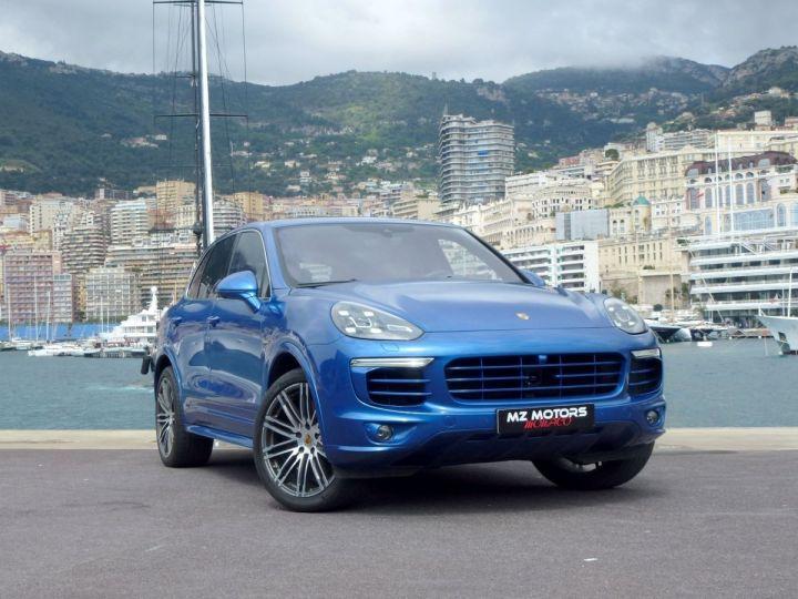 Porsche Cayenne II 3.0 S E-HYBRID TIPTRONIC Bleu Saphir métal Occasion - 6