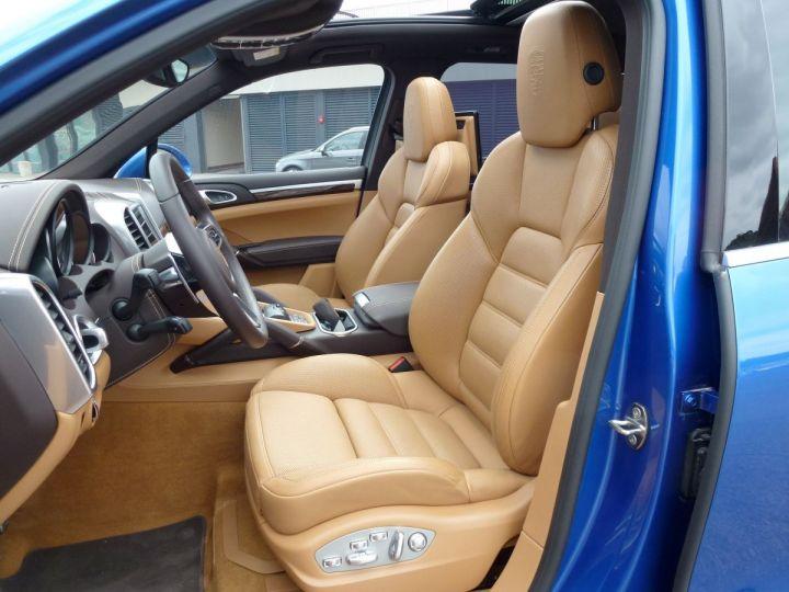 Porsche Cayenne II 3.0 S E-HYBRID TIPTRONIC Bleu Saphir métal Occasion - 13