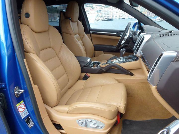 Porsche Cayenne II 3.0 S E-HYBRID TIPTRONIC Bleu Saphir métal Occasion - 14