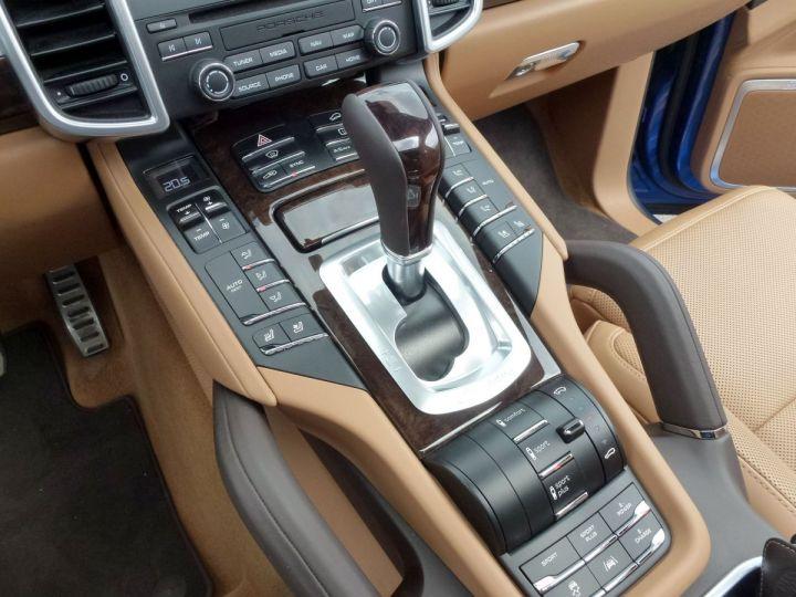 Porsche Cayenne II 3.0 S E-HYBRID TIPTRONIC Bleu Saphir métal Occasion - 17