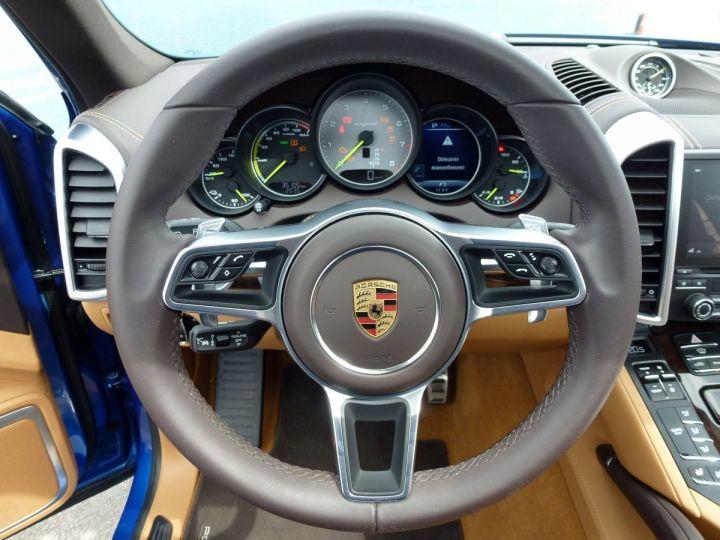 Porsche Cayenne II 3.0 S E-HYBRID TIPTRONIC Bleu Saphir métal Occasion - 18