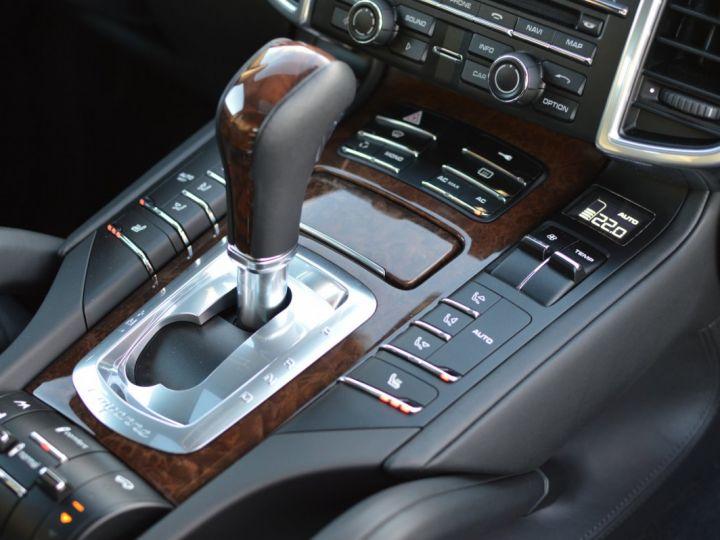 Porsche Cayenne II S 958 4.8l V8 400ch TIPTRONIC VERITABLE 1ERE MAIN SEULEMENT 15000KMS D'ORIGINE NOIR - 9