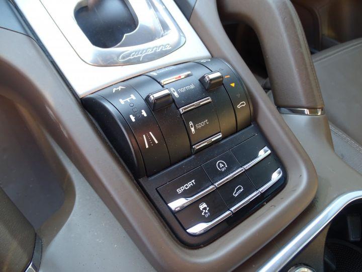 Porsche Cayenne II Turbo 500Ps 4.8L Tipt/Toe pano Jtes 21 Bose  Camera gris meteorite met - 14