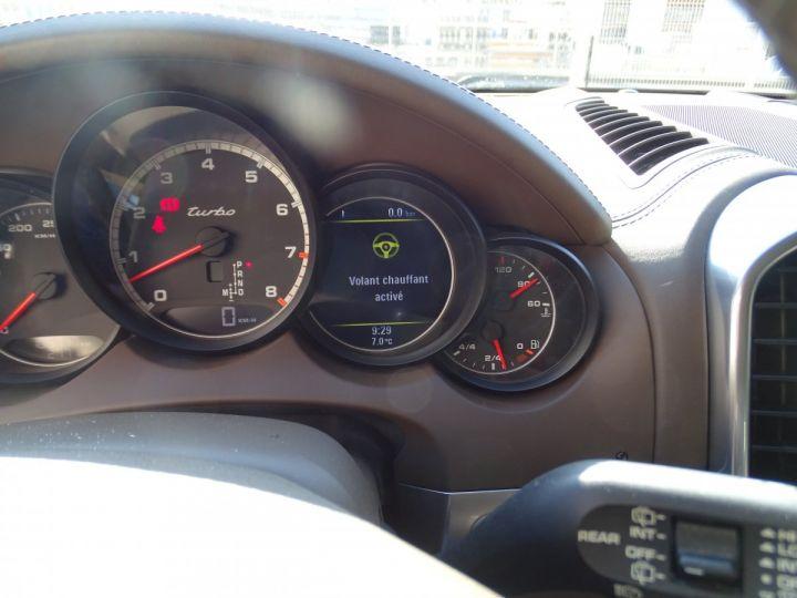 Porsche Cayenne II Turbo 500Ps 4.8L Tipt/Toe pano Jtes 21 Bose  Camera gris meteorite met - 16