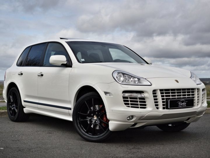 Porsche Cayenne Magnifique porsche cayenne gts 957 v8 4.8 405ch tiptronic véritable 1ère main full histo. Porsche BLANC - 1
