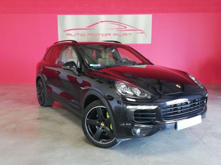 Porsche Cayenne Platinium Edition Noir - 3