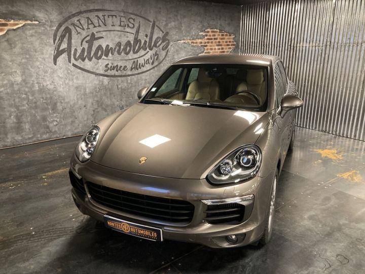 Porsche Cayenne Porsche cayenne S  Terre d'ombre métallisé - 3