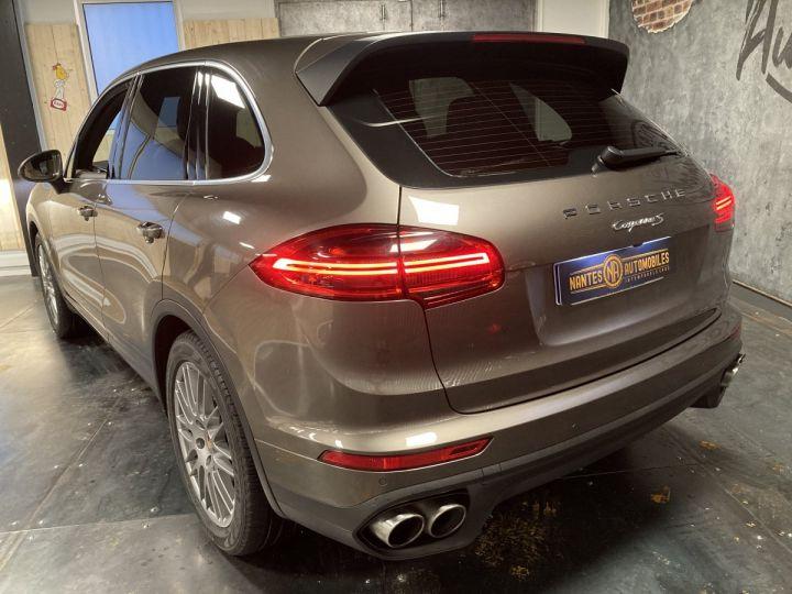 Porsche Cayenne Porsche cayenne S  Terre d'ombre métallisé - 8