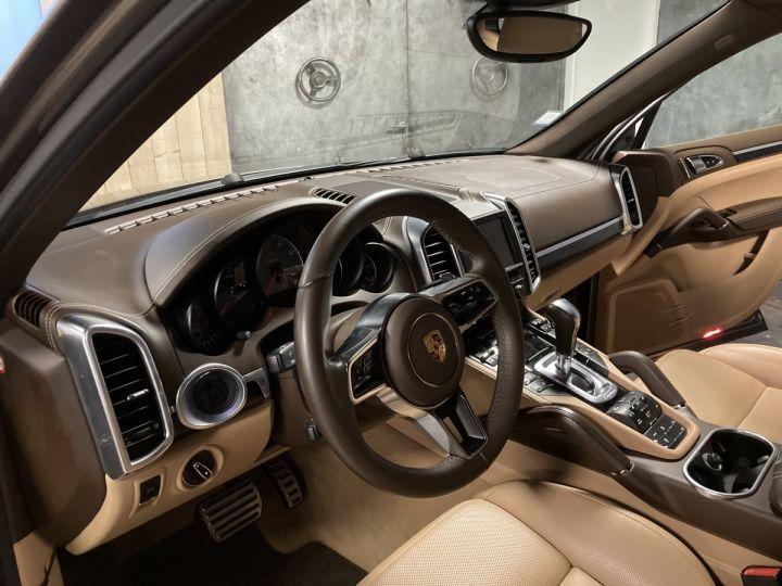Porsche Cayenne Porsche cayenne S  Terre d'ombre métallisé - 12