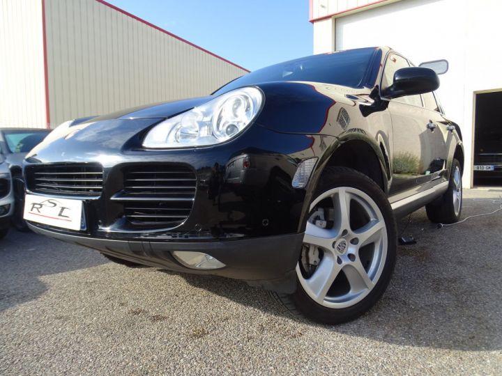 Porsche Cayenne S 4.5L 340PS Tipt/PASM TOE PDC BOSE BIXENON ORD Jantes 20 noir metallisé - 1