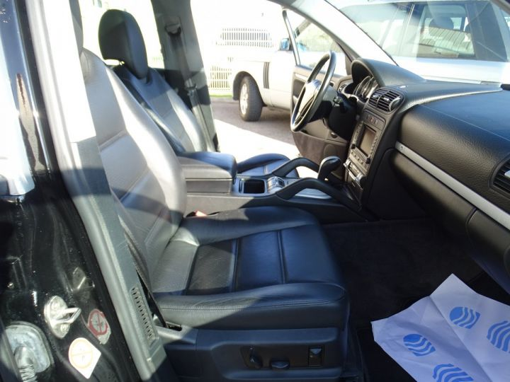 Porsche Cayenne S 4.5L 340PS Tipt/PASM TOE PDC BOSE BIXENON ORD Jantes 20 noir metallisé - 10