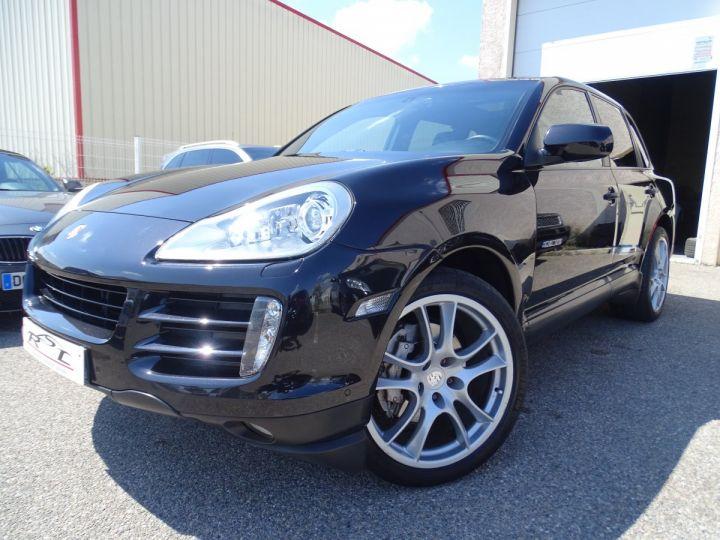 Porsche Cayenne S 4.8L V8 385Ps Tipt/PASM TOE panor PCM JTES 21  BIXENON  PDC Noir metallisé - 1