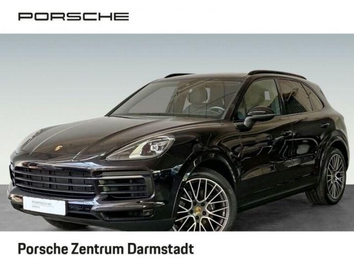 Porsche Cayenne Toit panoramique Porsche Cayenne PASM LED PDLS 21 pouces noir metallisé - 7