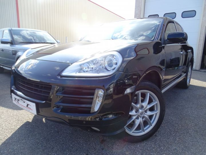 Porsche Cayenne V6 3.6L 290ps Tipt MK2 /Jtes 19 Bixenon PASM PDC noir metallisé - 1