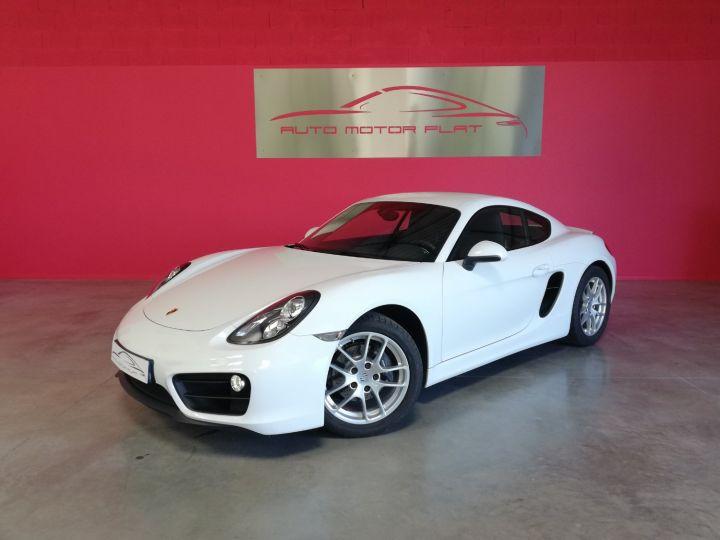 Porsche Cayman Blanc - 1