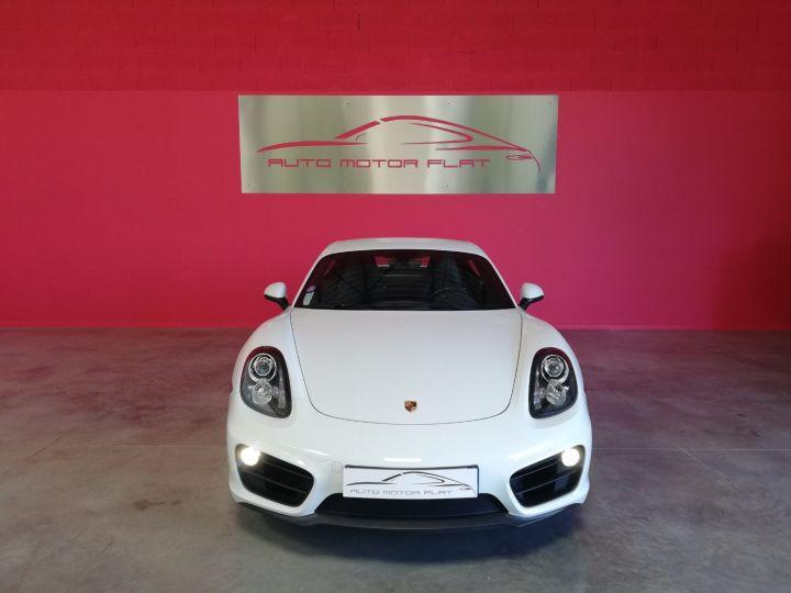 Porsche Cayman Blanc - 2