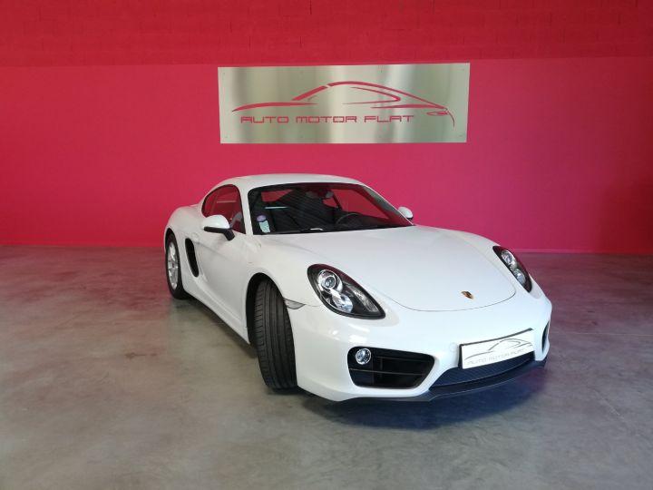 Porsche Cayman Blanc - 3