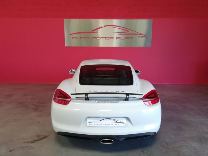Porsche Cayman Blanc - 4