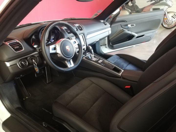 Porsche Cayman Blanc - 8