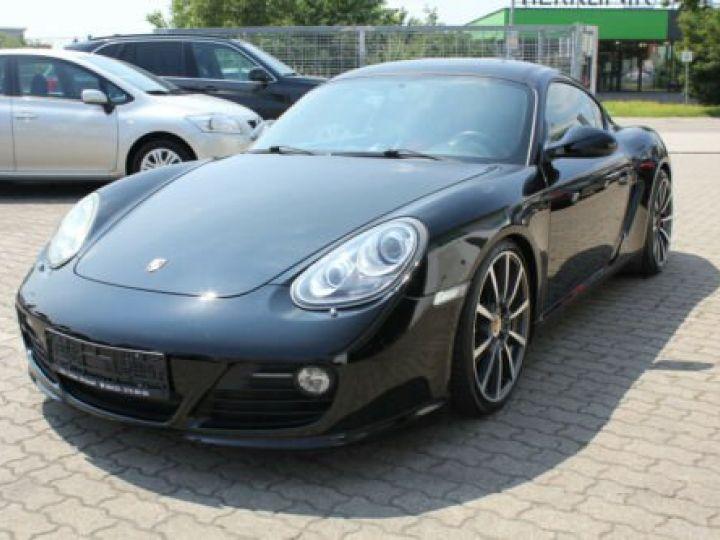 Porsche Cayman Noir métallisée  - 1