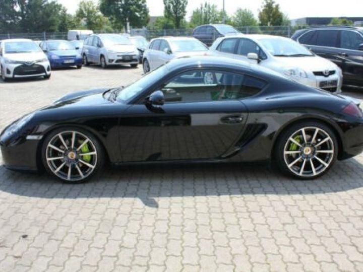 Porsche Cayman Noir métallisée  - 2