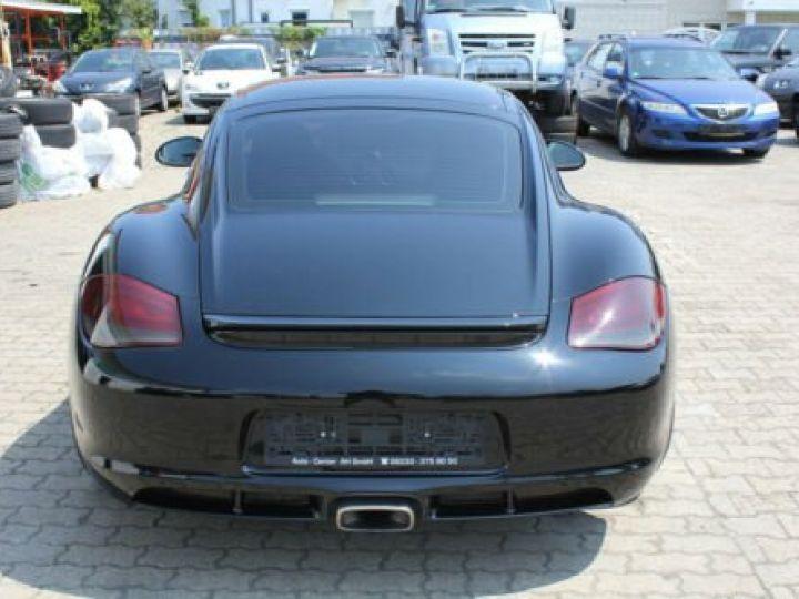 Porsche Cayman Noir métallisée  - 7