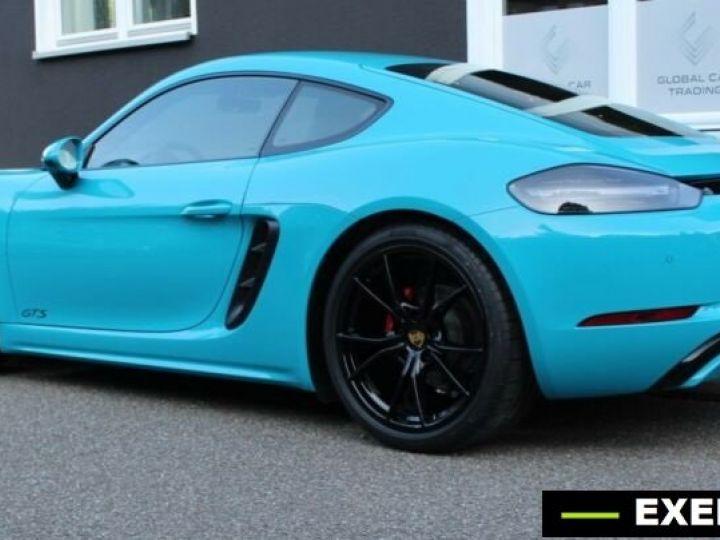 Porsche Cayman 718 GTS Bleu Peinture Metalise Occasion - 2