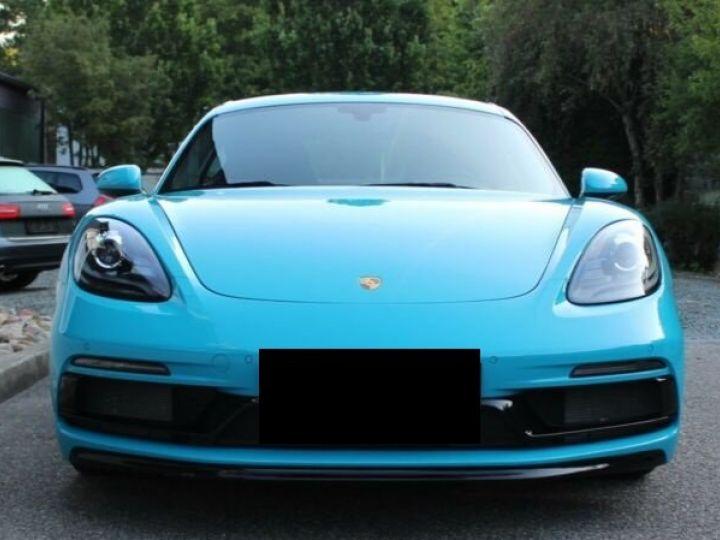 Porsche Cayman 718 GTS Bleu Peinture Metalise Occasion - 3
