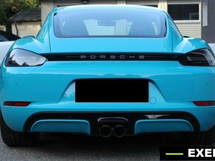 Porsche Cayman 718 GTS Bleu Peinture Metalise Occasion - 4