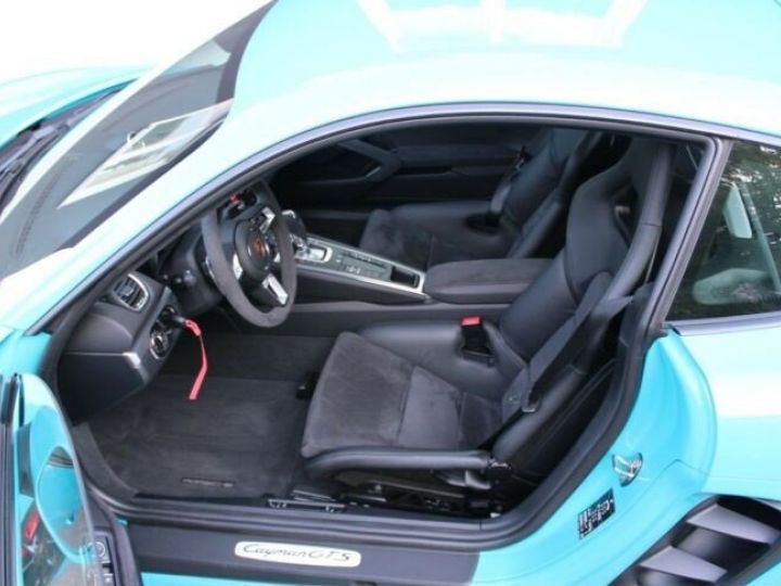 Porsche Cayman 718 GTS Bleu Peinture Metalise Occasion - 7