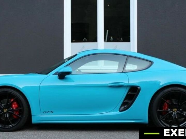Porsche Cayman 718 GTS Bleu Peinture Metalise Occasion - 13