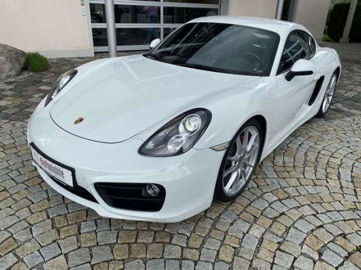 Porsche Cayman (981) 3.4 S PDK 325cv  *Pack sport - cuir - Xénon* Livraison + Garantie 12 mois + Carte Grise Blanc - 1