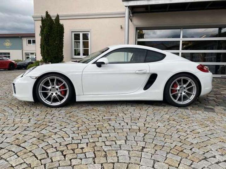 Porsche Cayman (981) 3.4 S PDK 325cv  *Pack sport - cuir - Xénon* Livraison + Garantie 12 mois + Carte Grise Blanc - 8