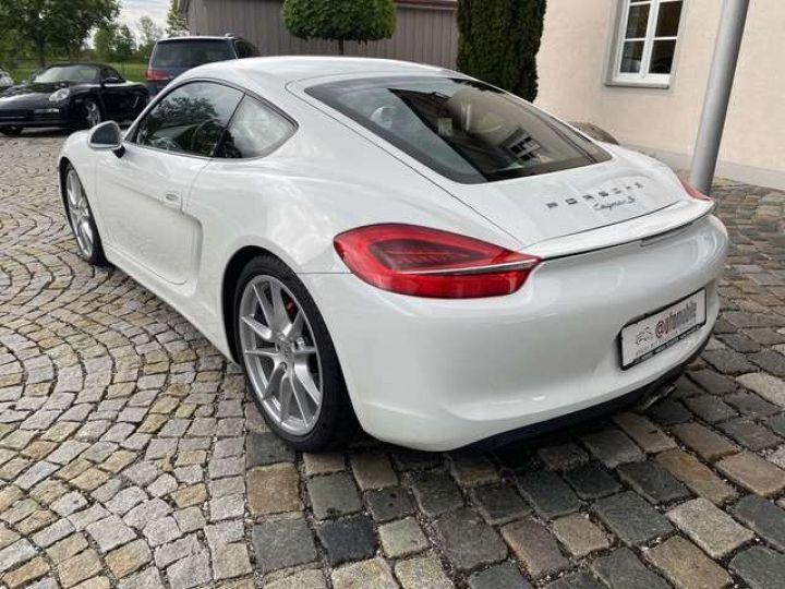 Porsche Cayman (981) 3.4 S PDK 325cv  *Pack sport - cuir - Xénon* Livraison + Garantie 12 mois + Carte Grise Blanc - 10