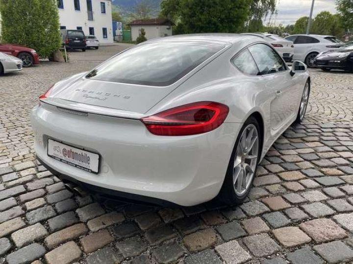 Porsche Cayman (981) 3.4 S PDK 325cv  *Pack sport - cuir - Xénon* Livraison + Garantie 12 mois + Carte Grise Blanc - 11
