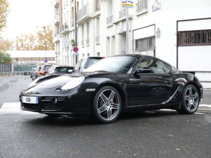 Porsche Cayman Design Edition 1 No 698/777 Noir - 1