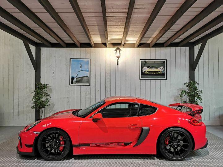 Porsche Cayman GT4 TYPE 981 PACK CLUBSPORT BVM Rouge - 1