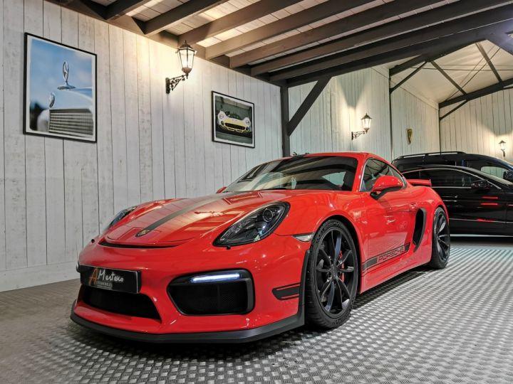 Porsche Cayman GT4 TYPE 981 PACK CLUBSPORT BVM Rouge - 2