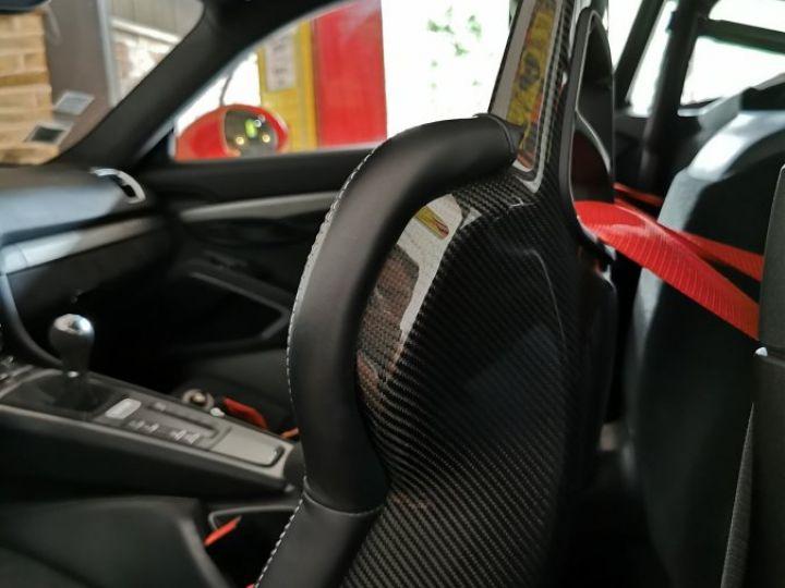 Porsche Cayman GT4 TYPE 981 PACK CLUBSPORT BVM Rouge - 8