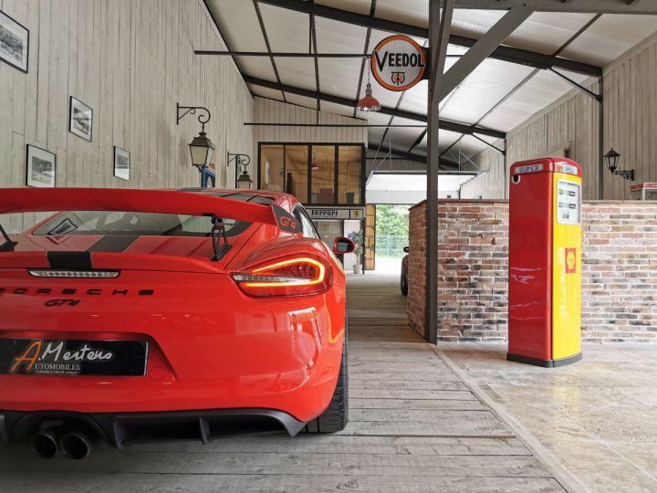 Porsche Cayman GT4 TYPE 981 PACK CLUBSPORT BVM Rouge - 20