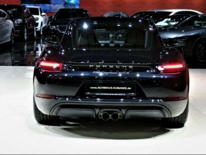 Porsche Cayman # GTS*SPORT-DESIGN-PAKET*SPORTABGAS**20LM* 1ere Main Noir Peinture métallisée - 4