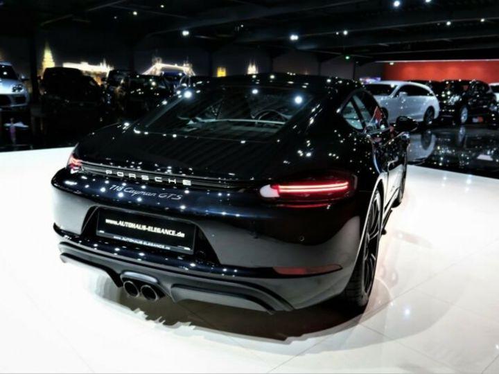 Porsche Cayman # GTS*SPORT-DESIGN-PAKET*SPORTABGAS**20LM* 1ere Main Noir Peinture métallisée - 5