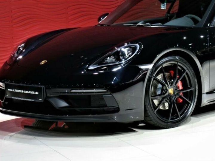 Porsche Cayman # GTS*SPORT-DESIGN-PAKET*SPORTABGAS**20LM* 1ere Main Noir Peinture métallisée - 6