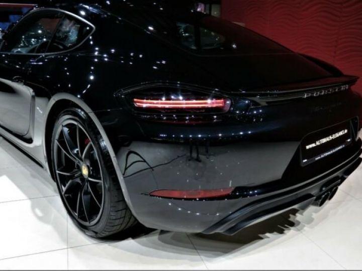 Porsche Cayman # GTS*SPORT-DESIGN-PAKET*SPORTABGAS**20LM* 1ere Main Noir Peinture métallisée - 7