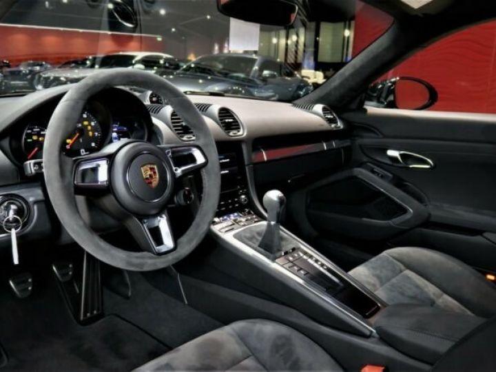 Porsche Cayman # GTS*SPORT-DESIGN-PAKET*SPORTABGAS**20LM* 1ere Main Noir Peinture métallisée - 8