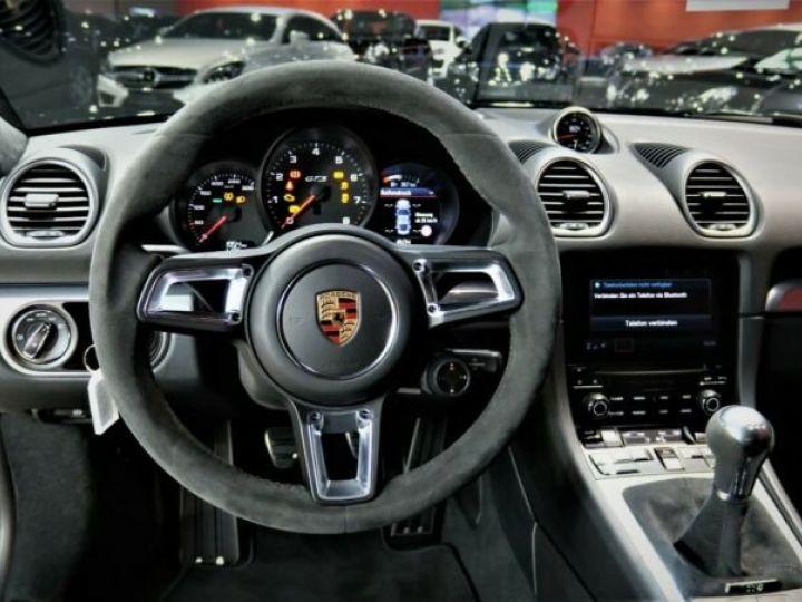 Porsche Cayman # GTS*SPORT-DESIGN-PAKET*SPORTABGAS**20LM* 1ere Main Noir Peinture métallisée - 9