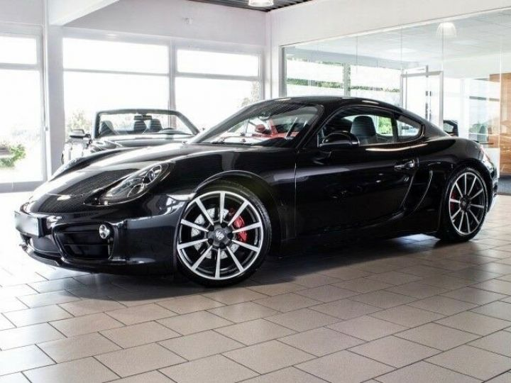Porsche Cayman II TYPE 981 Noir métallisé - 2