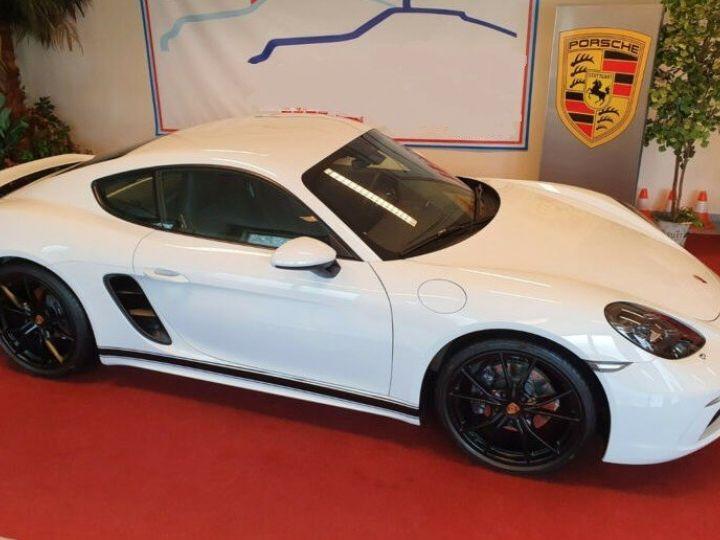 Porsche Cayman PDK/SPORTABGS./SP.CHRONO/PDLS/NAVI/20LM * Carte grise et malus éco INCLUS * Blanc métal - 5
