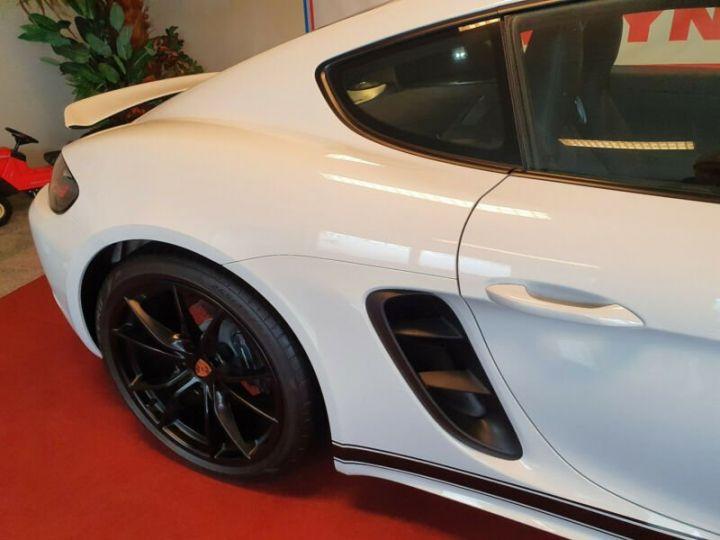 Porsche Cayman PDK/SPORTABGS./SP.CHRONO/PDLS/NAVI/20LM * Carte grise et malus éco INCLUS * Blanc métal - 6